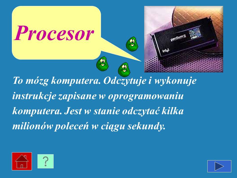 Jest najważniejszą częścią komputera. Na niej umieszczony jest procesor i wszystkie inne elektroniczne części oraz gniazda dla kart rozszerzeń. Płyta