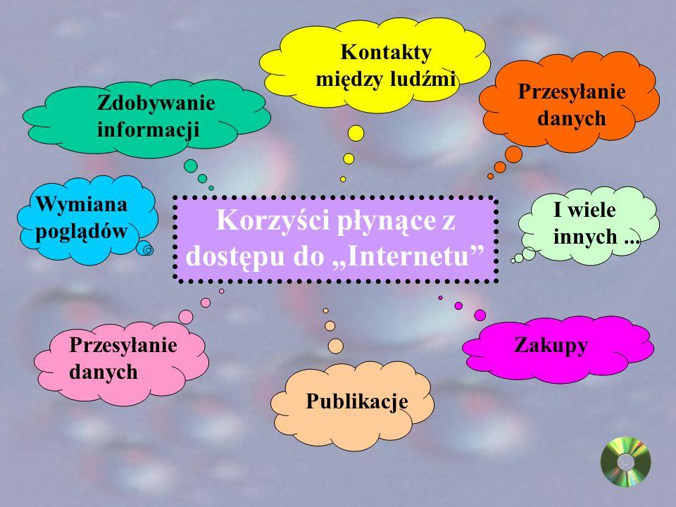 Nie denerwuj się! Zajrzyj na listę adresową. www.baba.pl. www.disney.com. ftp.microsoft.com. Powstały specjalne serwery, na których gromadzona jest li