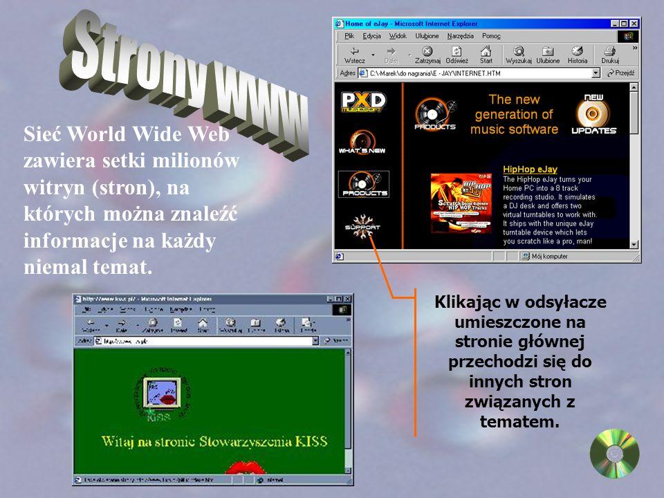 Do korzystania z Sieci niezbędne są odpowiednie narzędzia - programy, w które należy wyposażyć komputer.