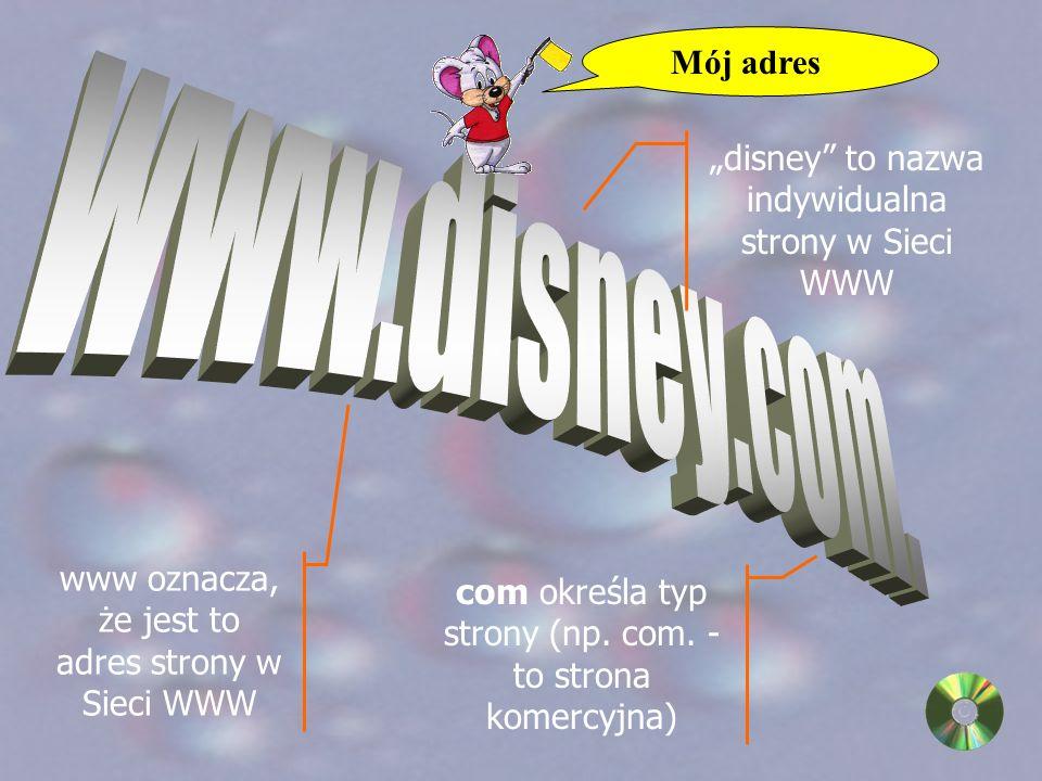 Do przesyłania informacji w Internecie niezbędne są adresy, pozwalające na skierowanie informacji do konkretnego komputera.