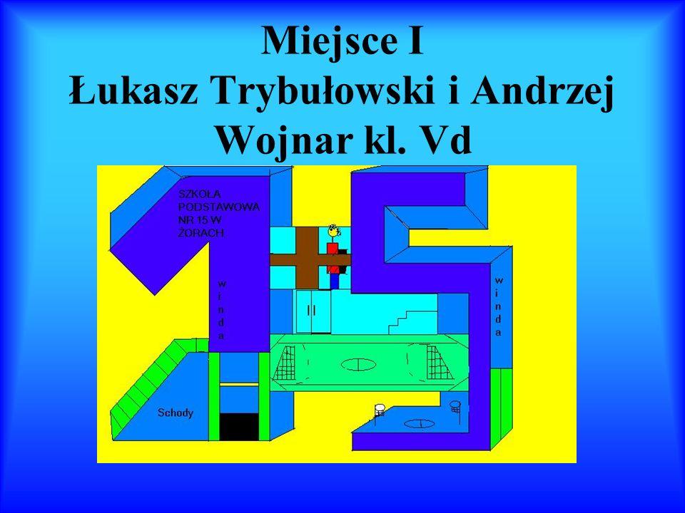 Miejsce I Łukasz Trybułowski i Andrzej Wojnar kl. Vd
