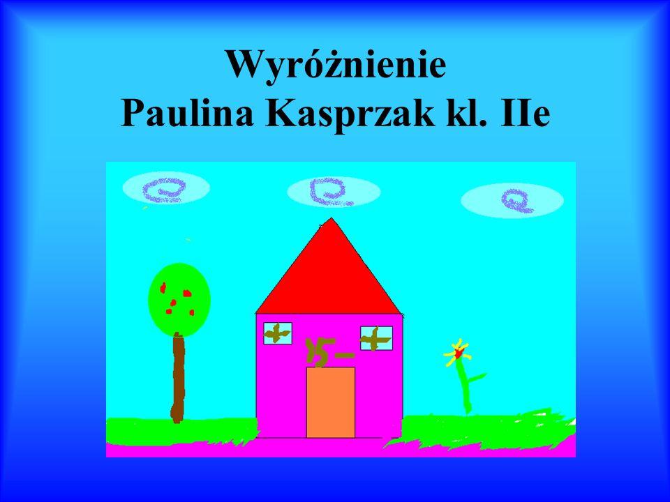 Wyróżnienie Martyna Mierzejewska kl. IId