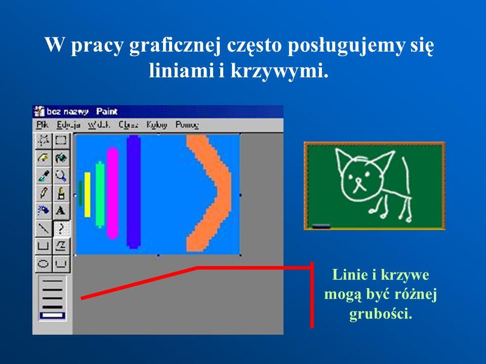Rysowanie ołówkiem. Gumowanie. Rysunek wykonany komputerowym ołówkiem Komputerowa gumka może przybierać różne wielkości i kolory
