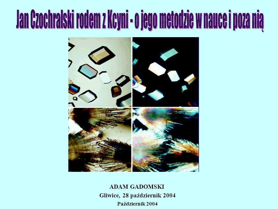 ADAM GADOMSKI Gliwice, 28 październik 2004 Październik 2004