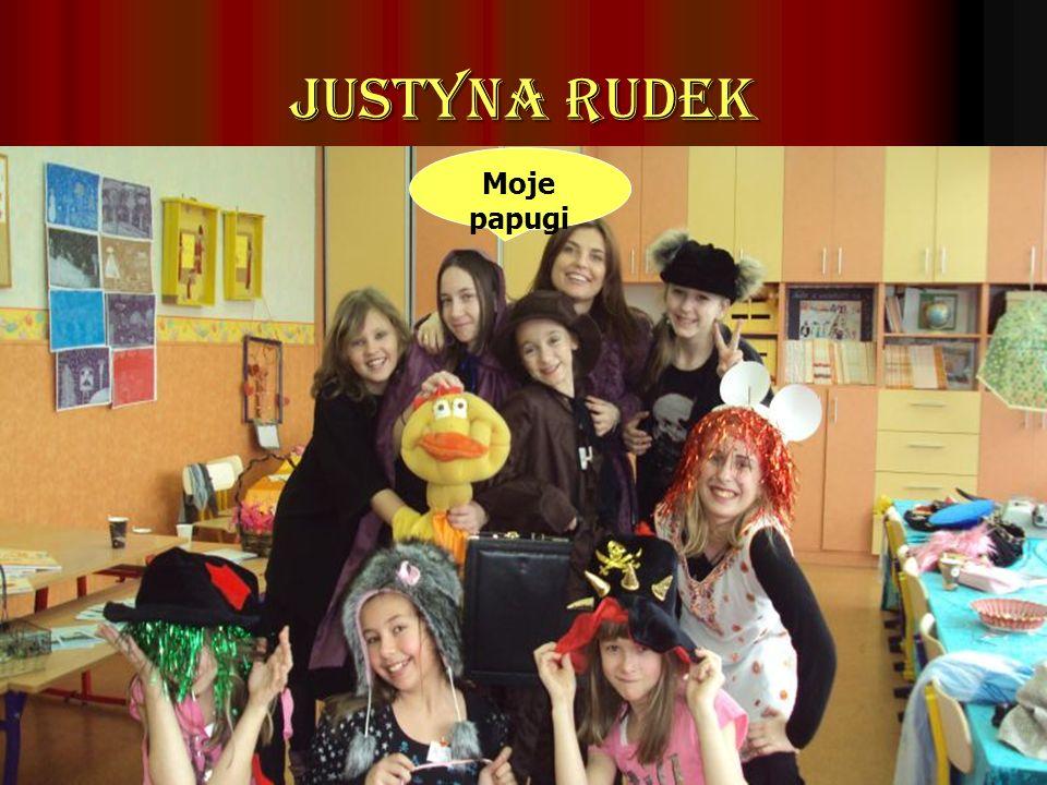 Justyna Rudek Moje papugi