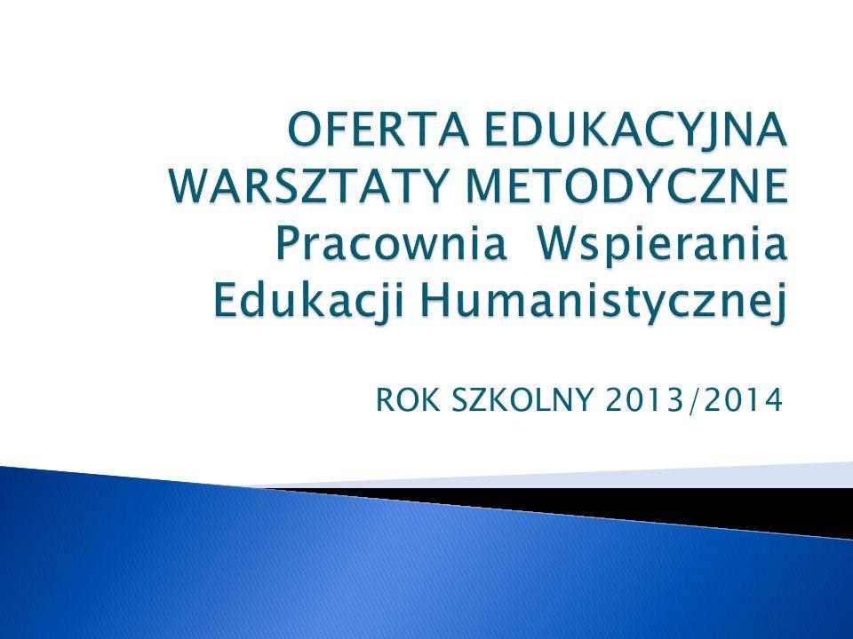 Nr for my FormaOsoba prowadzącaLiczba godzin Cena 232Jak pracować w klasie IV na lekcjach języka polskiego.