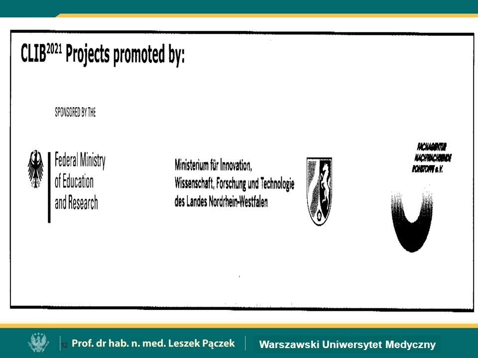 Warszawski Uniwersytet Medyczny 12