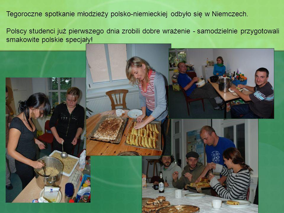 Tegoroczne spotkanie młodzieży polsko-niemieckiej odbyło się w Niemczech. Polscy studenci już pierwszego dnia zrobili dobre wrażenie - samodzielnie pr