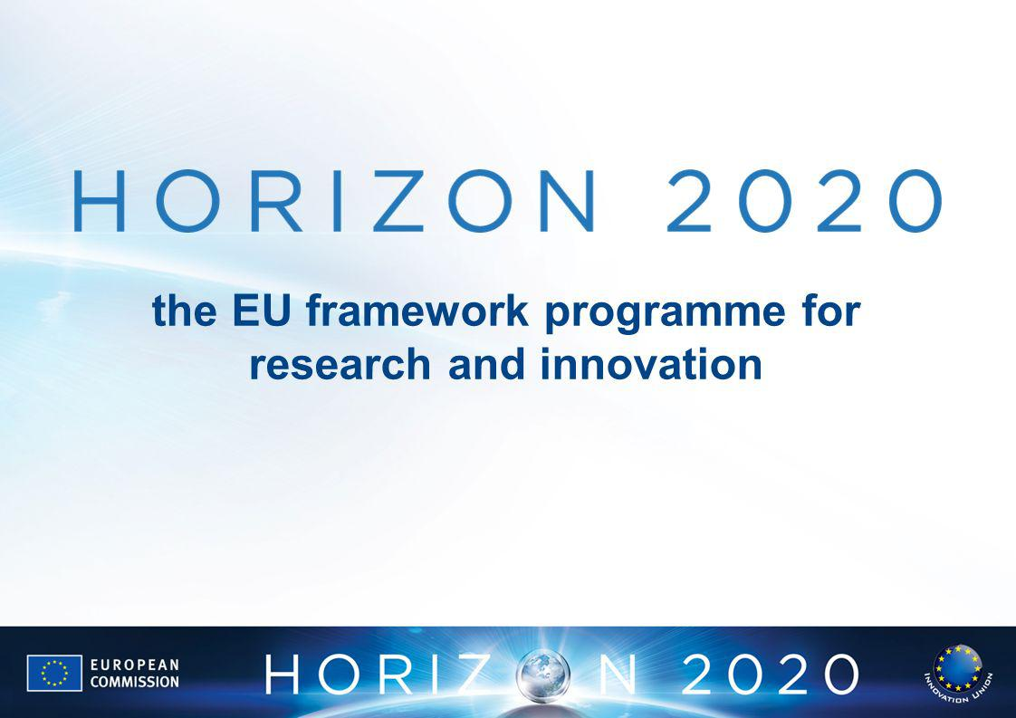 the EU framework programme for research and innovation