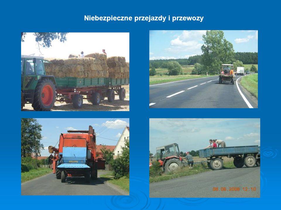 Niebezpieczne przejazdy i przewozy