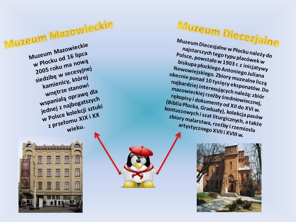 Muzeum Mazowieckie w Płocku od 16 lipca 2005 roku ma nową siedzibę w secesyjnej kamienicy, której wnętrze stanowi wspaniałą oprawę dla jednej z najbog