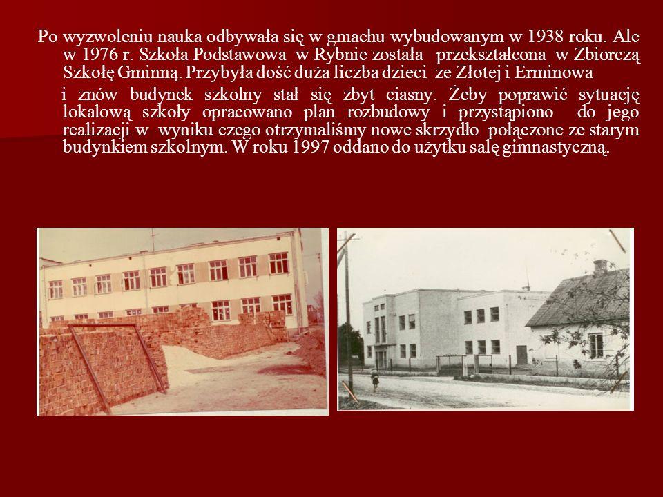 Niestety 1 września 1939 r. dzieci nie rozpoczęły w nim nauki, gdyż wybuchła II wojna światowa i budynek został przeznaczony na szpital wojskowy. Późn