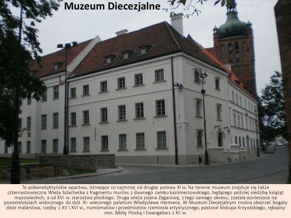 Muzeum Diecezjalne To pobenedyktyńskie opactwo, istniejące co najmniej od drugiej połowy XI w. Na terenie muzeum znajduje się także czternastowieczna