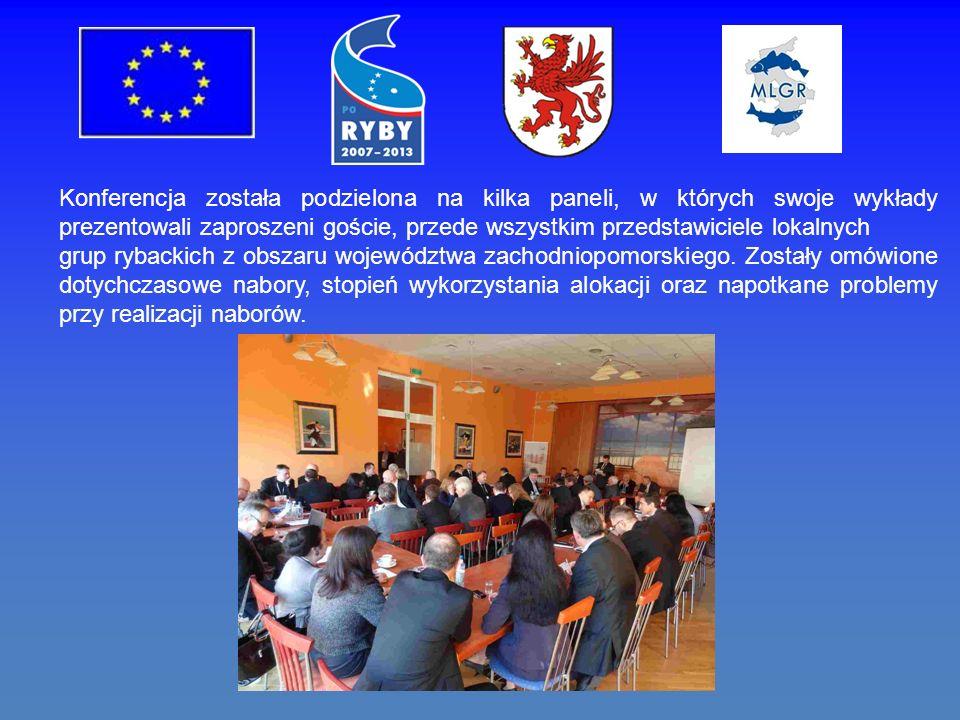 Konferencja została podzielona na kilka paneli, w których swoje wykłady prezentowali zaproszeni goście, przede wszystkim przedstawiciele lokalnych grup rybackich z obszaru województwa zachodniopomorskiego.