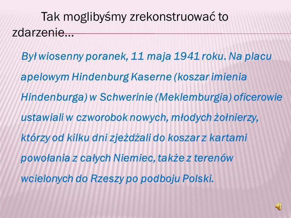 T. Kühn nie zamierzał służyć w niemieckiej armii. Jedenastego maja 1941r. napisał podanie o zwolnienie go ze służby w Wehrmachcie, gdyż nie czuje się