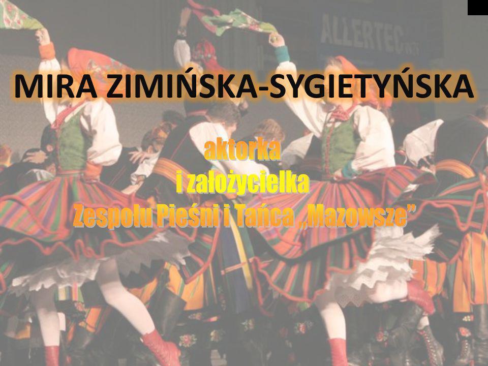 Zespół Ludowy Pieśni i Tańca Mazowsze Zespół Mazowsze powołał do życia dekret Ministerstwa Kultury i Sztuki 8listopada 1948 polecający prof.