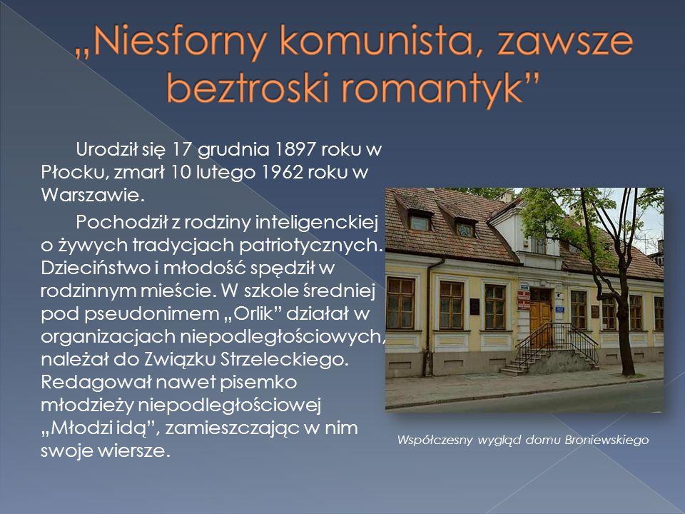Urodził się 17 grudnia 1897 roku w Płocku, zmarł 10 lutego 1962 roku w Warszawie. Pochodził z rodziny inteligenckiej o żywych tradycjach patriotycznyc