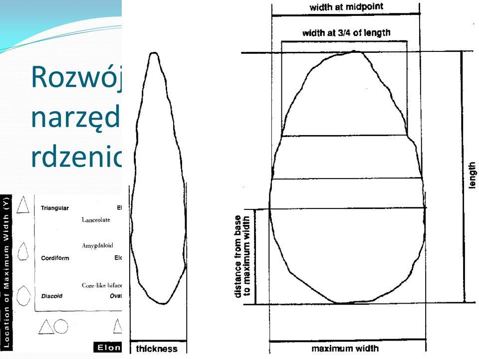 0,5 Mya: rozwój kultury dolnego paleolitu Boxgrove High Lodge Swanscombe Clacton on Sea W tym okresie, obok znanych dotychczas zespołów otoczakowych, oraz zespołów z narzędziami mikrolitycznymi (tzw.