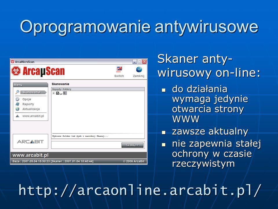 http://arcaonline.arcabit.pl/ do działania wymaga jedynie otwarcia strony WWW do działania wymaga jedynie otwarcia strony WWW zawsze aktualny zawsze a