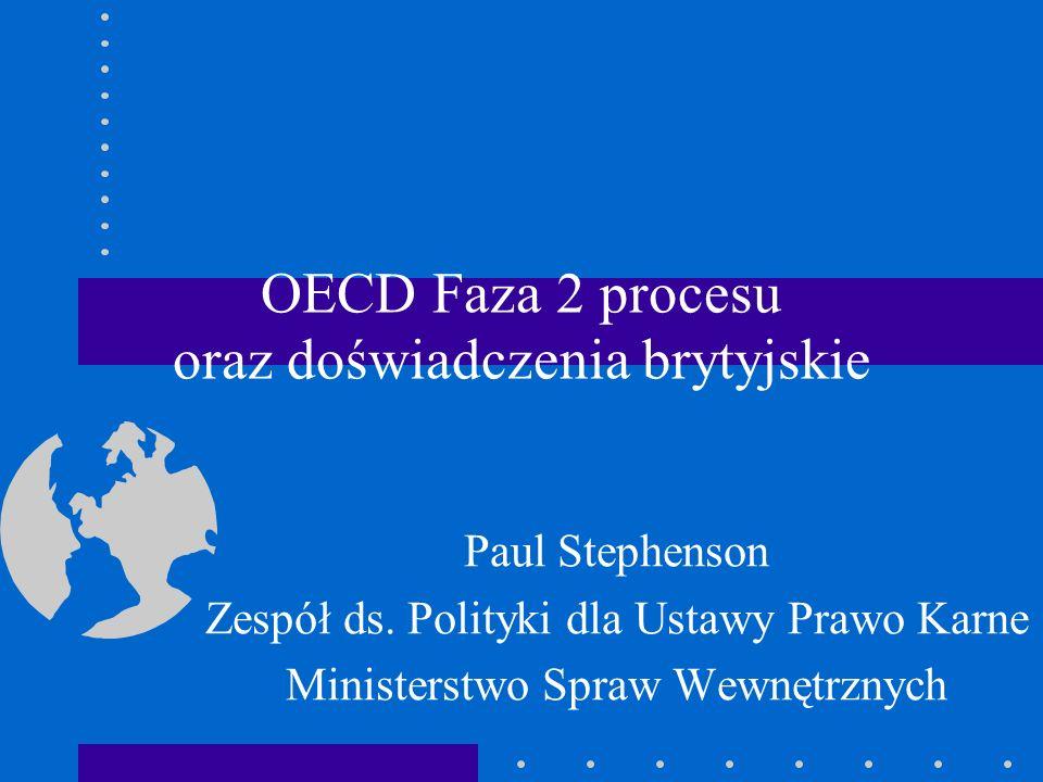 Wielka Brytania i Polska Wskaźnik postrzegania korupcji TI- Transparency International (korupcja krajowa): Wlk.Brytania 11; Polska 70.