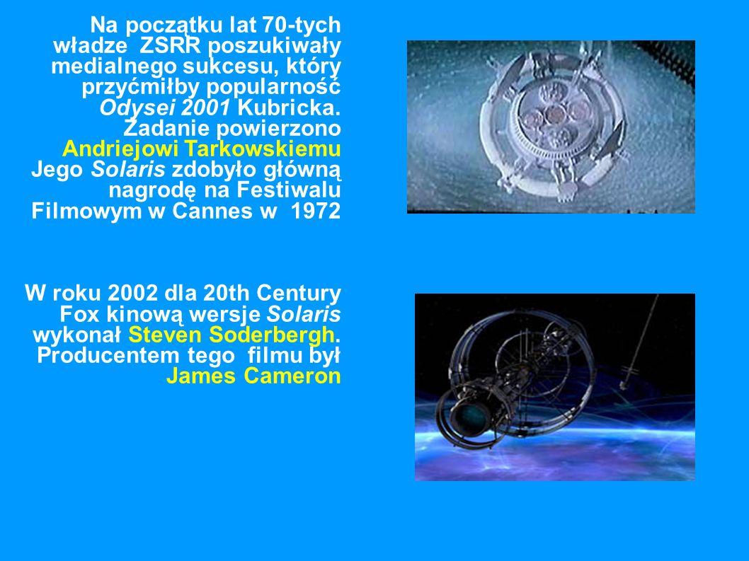 Na początku lat 70-tych władze ZSRR poszukiwały medialnego sukcesu, który przyćmiłby popularność Odysei 2001 Kubricka.