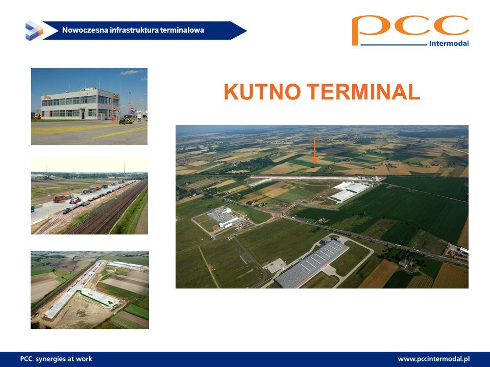 Nowoczesna infrastruktura terminalowa KUTNO TERMINAL
