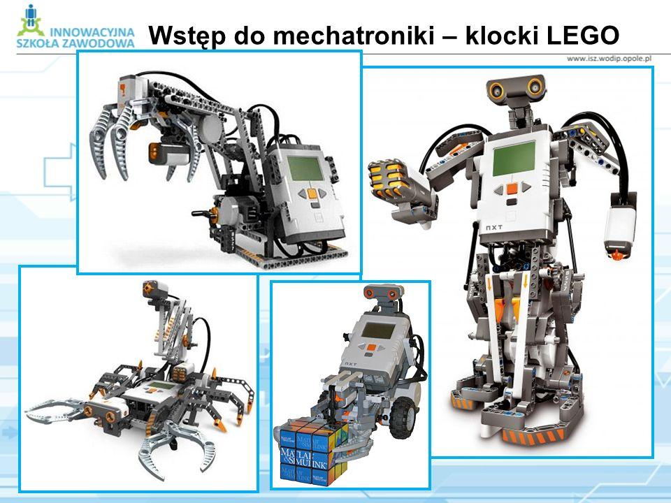 Wstęp do mechatroniki – klocki LEGO Mindstorms