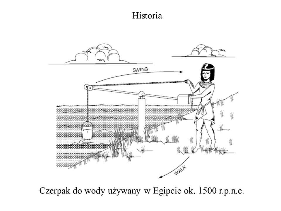Czerpak do wody używany w Egipcie ok. 1500 r.p.n.e. Historia