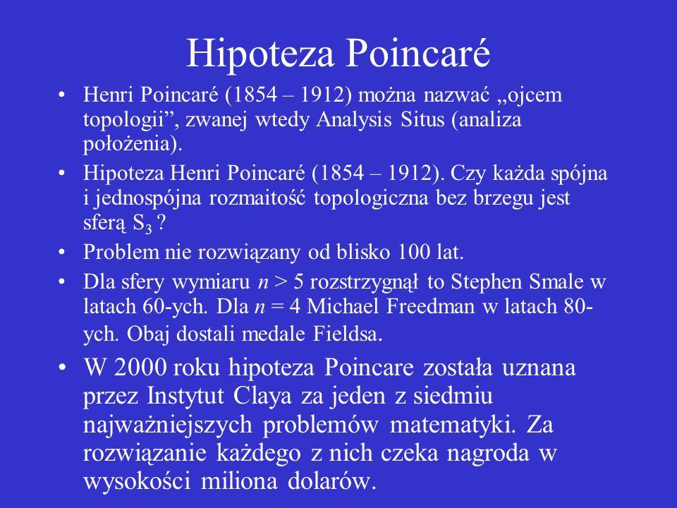 Homotopia Pierwsza grupa homotopii mierzy ile i jakie dziury są w przestrzeni. Matematyk rzekł zdziwiony: Ona nie ma drugiej strony!!!! Godzinami tnę