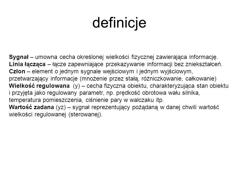 definicje Sygnał – umowna cecha określonej wielkości fizycznej zawierająca informację. Linia łącząca – łącze zapewniające przekazywanie informacji bez