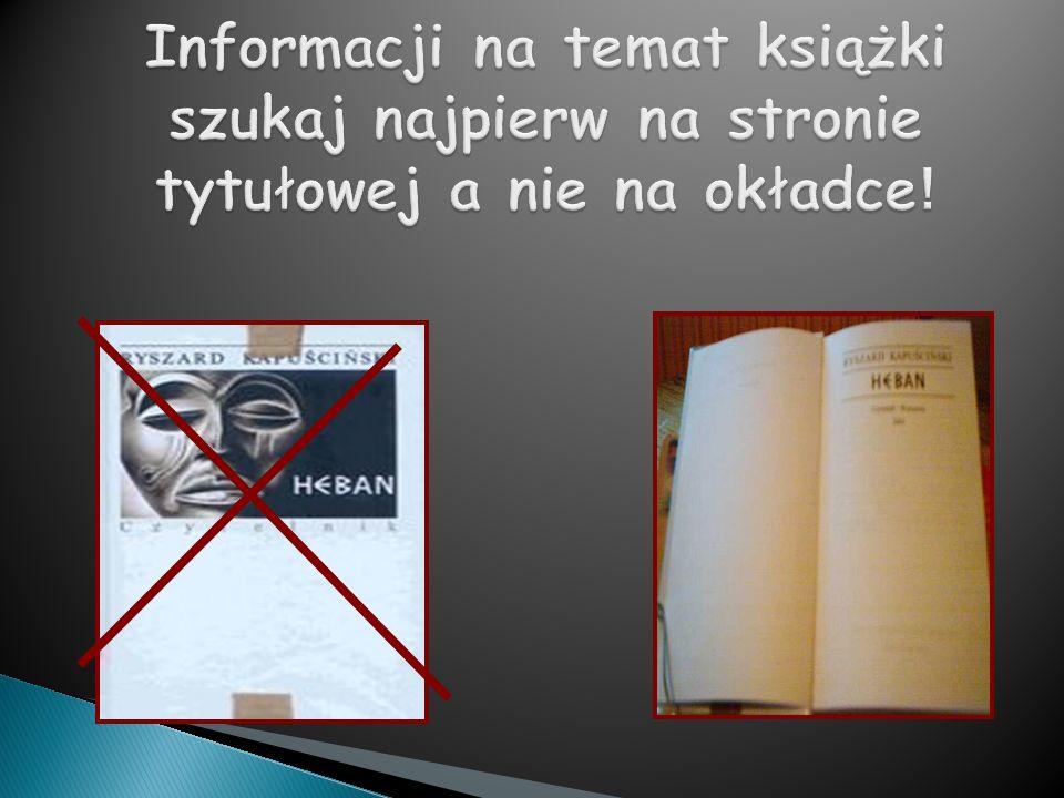 Nazwisko i imię autora artykułu, Tytuł artykułu, Tytuł czasopisma rok, numer czasopisma, numery stron