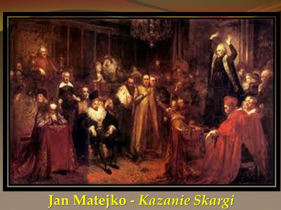 Jan Matejko - Kazanie Skargi