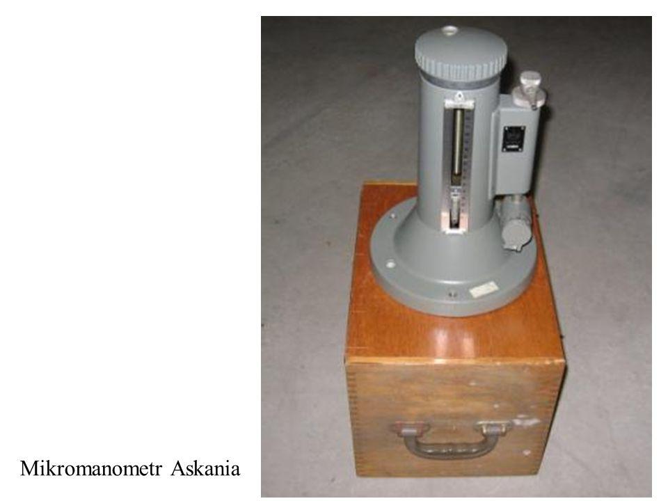 Mikromanometr Askania