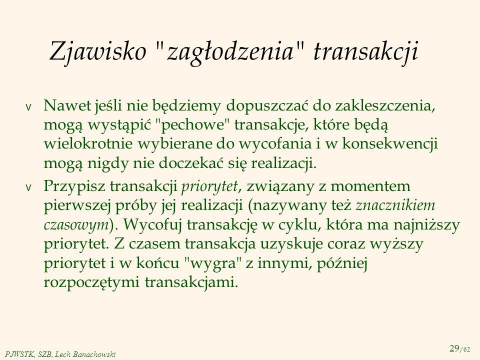 29 /62 PJWSTK, SZB, Lech Banachowski Zjawisko