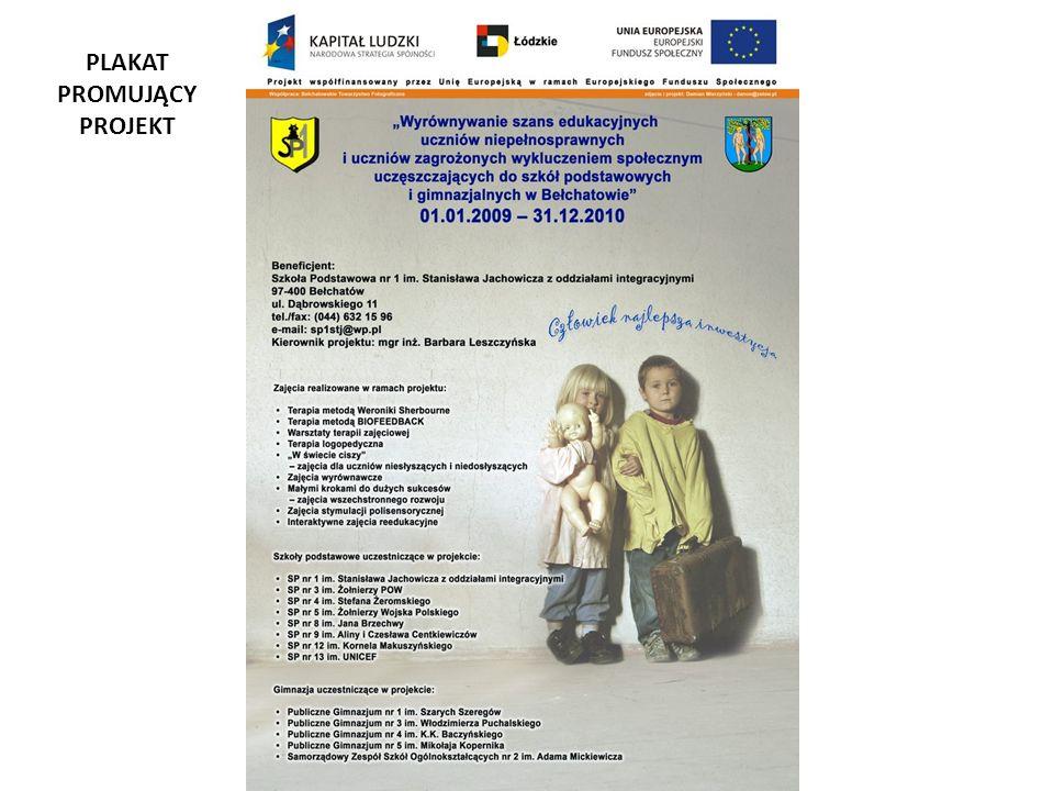 Zajęcia stymulacji polisensorycznej prowadzone będą w Integracyjnym Samorządowym Przedszkolu nr 3 w Bełchatowie, os.