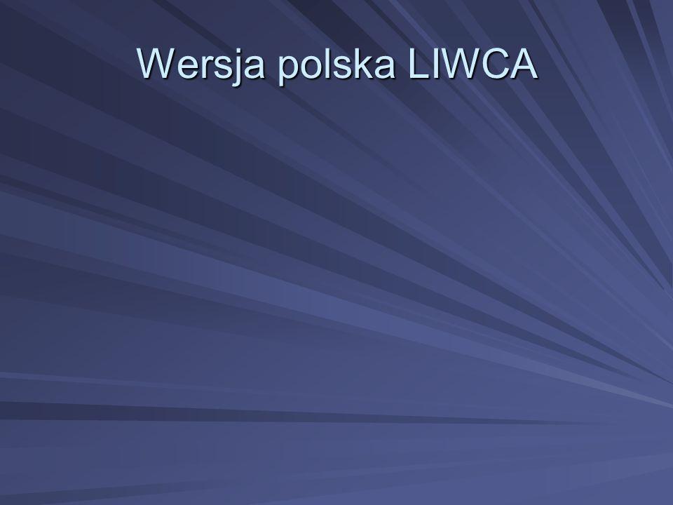 Wersja polska LIWCA