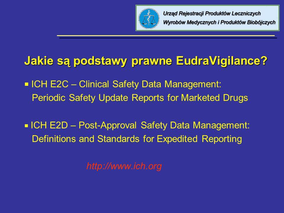 Jak można korzystać z EudraVigilance WEB.a.