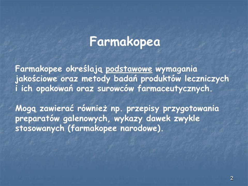 3 Farmakopea Polska jest opracowywana i wydawana przez Urząd Rejestracji Produktów Leczniczych, Wyrobów Medycznych i Produktów Biobójczych (art.