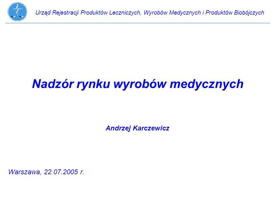 Urząd Rejestracji Produktów Leczniczych, Wyrobów Medycznych i Produktów Biobójczych Ustawa z dnia 29 stycznia 2004 r.