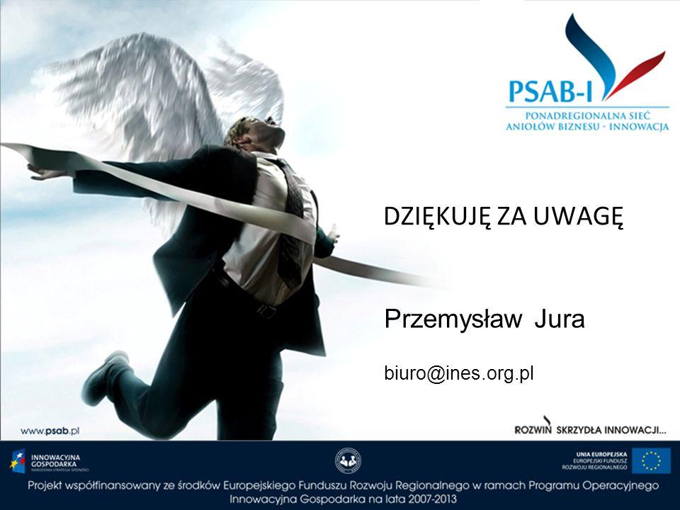 DZIĘKUJĘ ZA UWAGĘ Przemysław Jura biuro@ines.org.pl