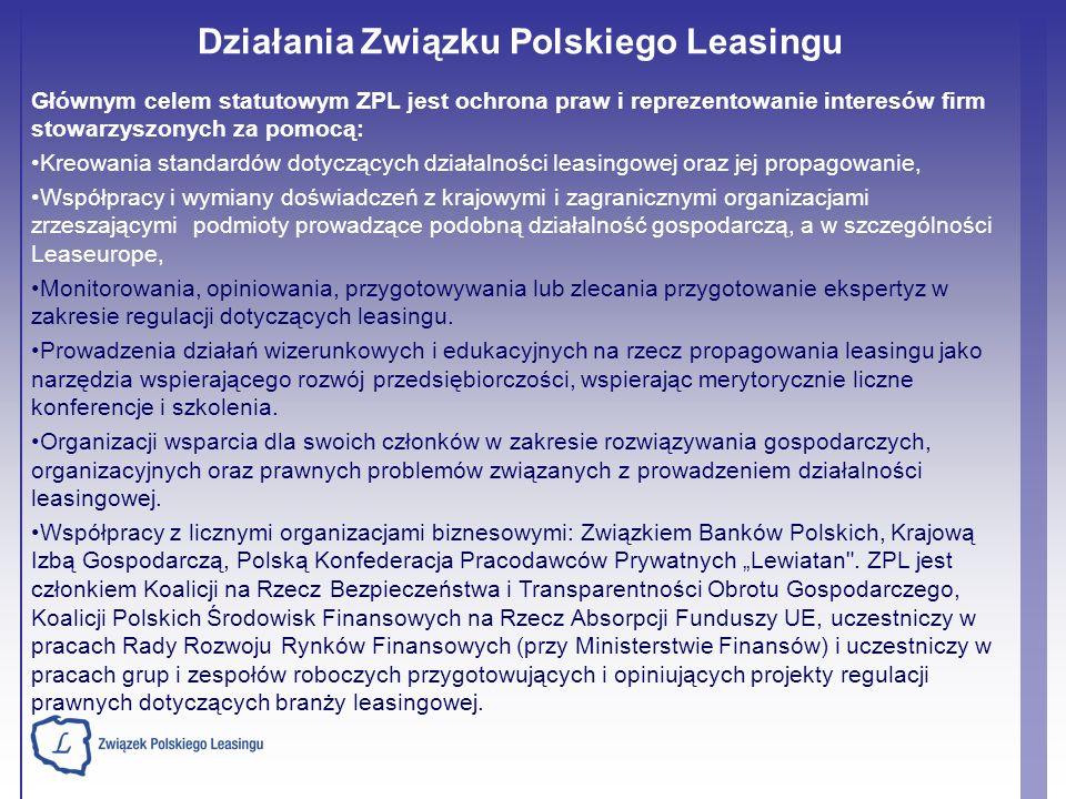 Głównym celem statutowym ZPL jest ochrona praw i reprezentowanie interesów firm stowarzyszonych za pomocą: Kreowania standardów dotyczących działalnoś
