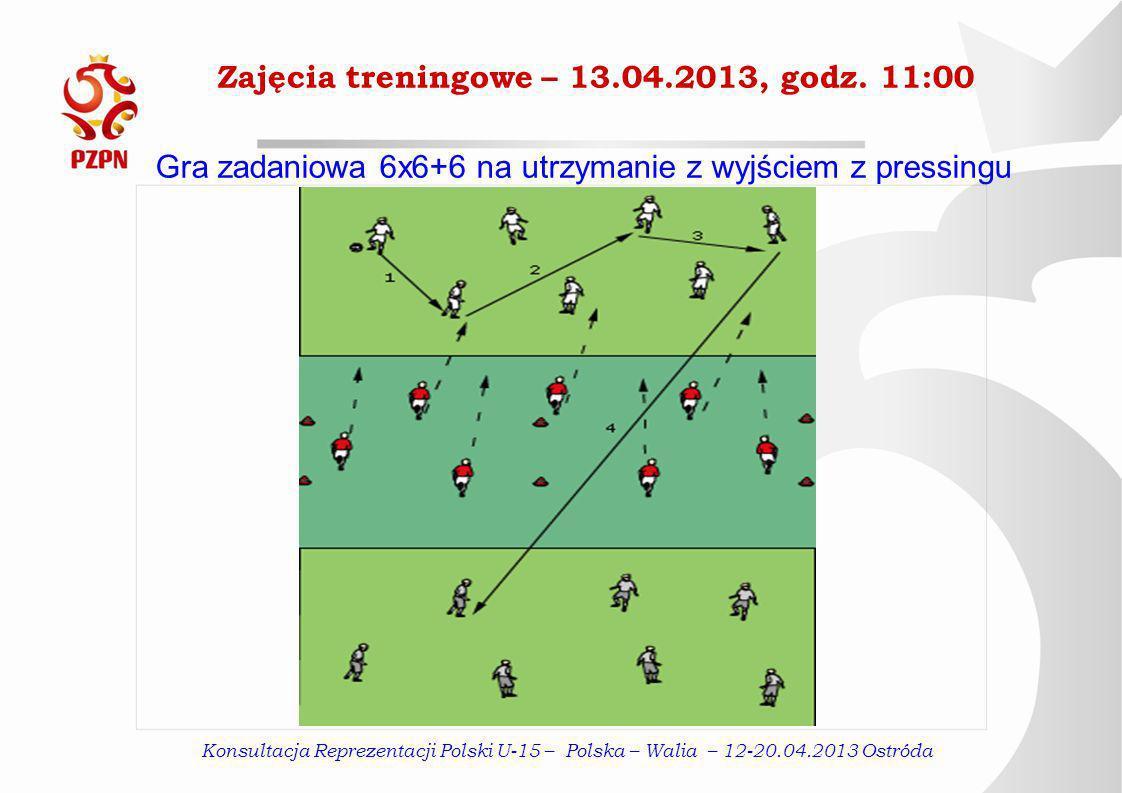 Zajęcia treningowe – 13.04.2013, godz.