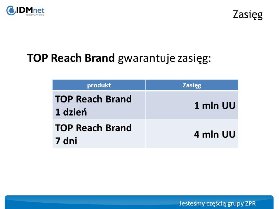 Jesteśmy częścią grupy ZPR Toplayer full page z double billboard / triple billboard Formaty reklamowe Użytkownik wchodząc na serwis znajdujący się w pakiecie TopReachBrand widzi Toplayer FullPage z capp1xUU (capping ustawiony na cały pakiet witryn TopReachBrand).