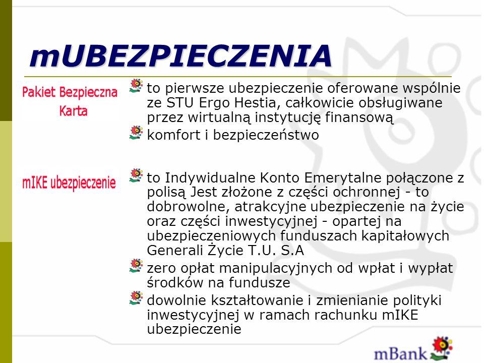 mUBEZPIECZENIA to pierwsze ubezpieczenie oferowane wspólnie ze STU Ergo Hestia, całkowicie obsługiwane przez wirtualną instytucję finansową komfort i