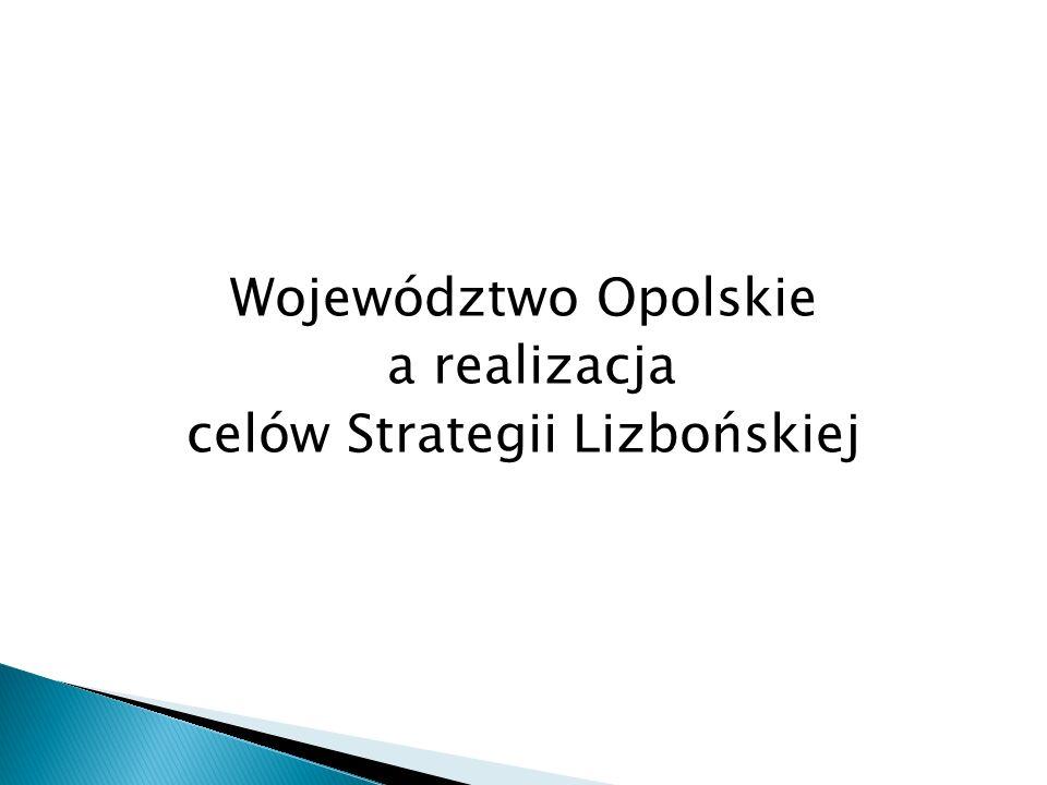 Województwo Opolskie a realizacja celów Strategii Lizbońskiej