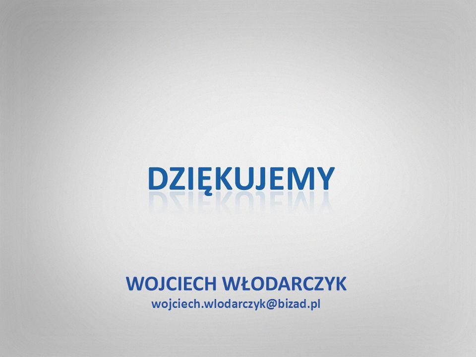 WOJCIECH WŁODARCZYK wojciech.wlodarczyk@bizad.pl