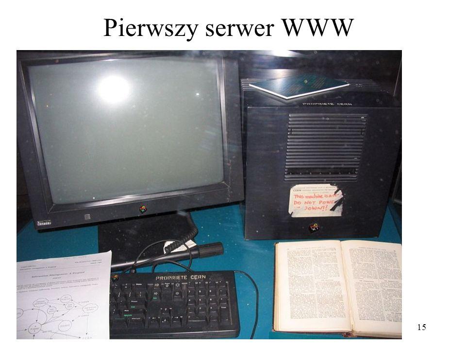 15 Pierwszy serwer WWW