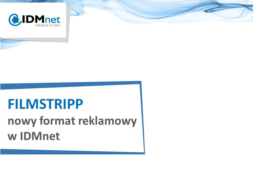 FILMSTRIPP nowy format reklamowy w IDMnet