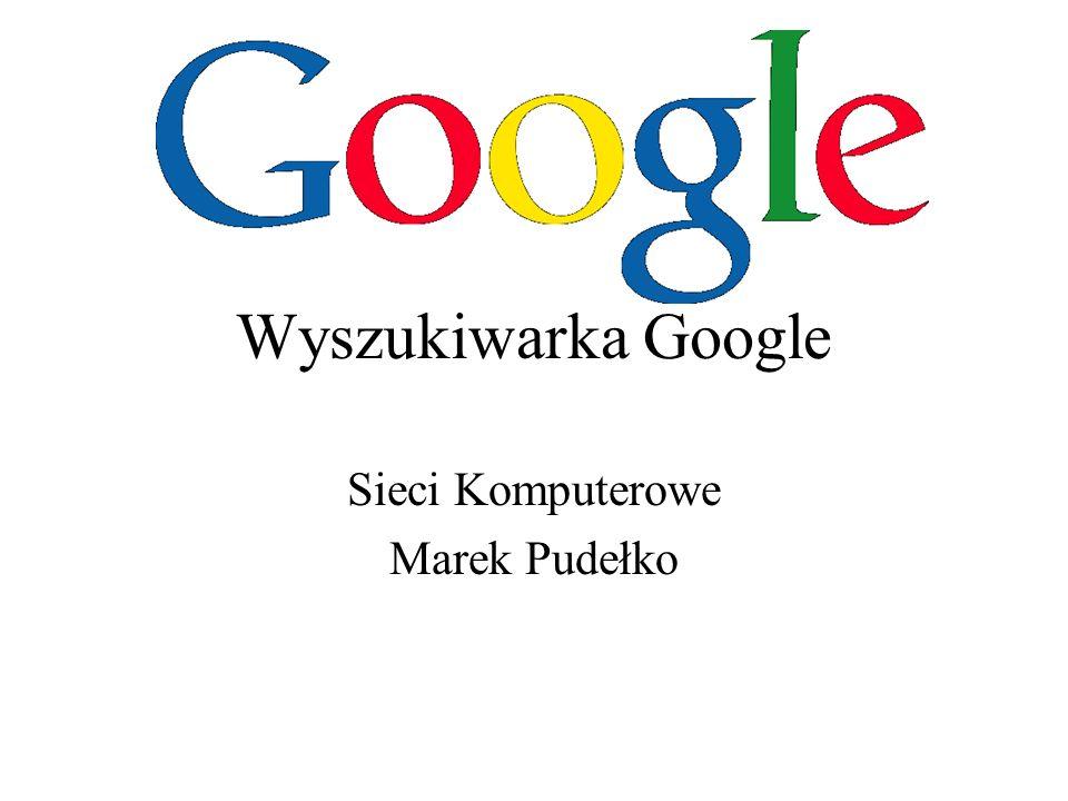 2 Wyszukiwarka Internetowa Wyszukiwarka internetowa (ang.