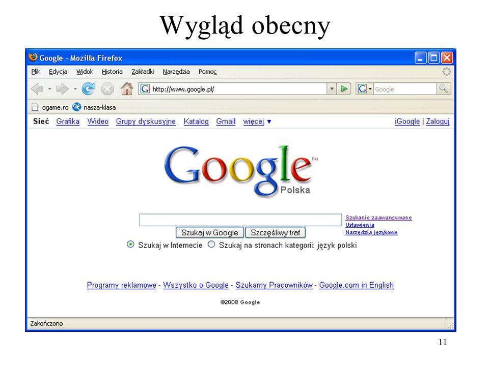 12 W Google można znaleźć różne ciekawe rzeczy. Trzeba tylko zadać odpowiednie pytanie